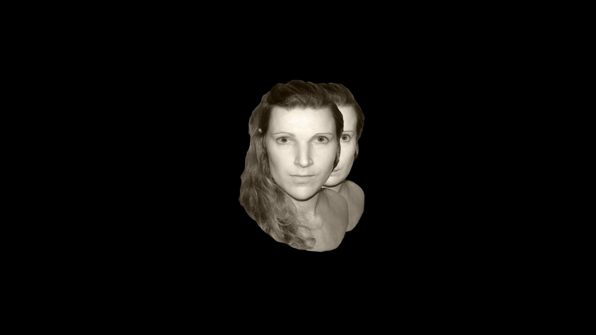 retroprojecton, video-art, face reading, physiongnomy